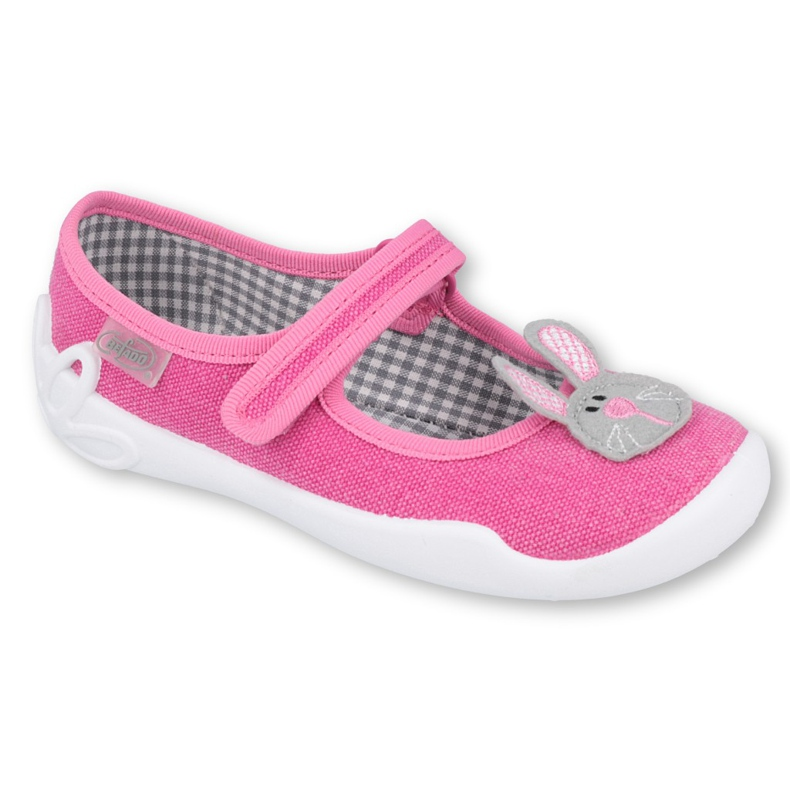 Calçados infantis Befado 114X430 rosa cinza