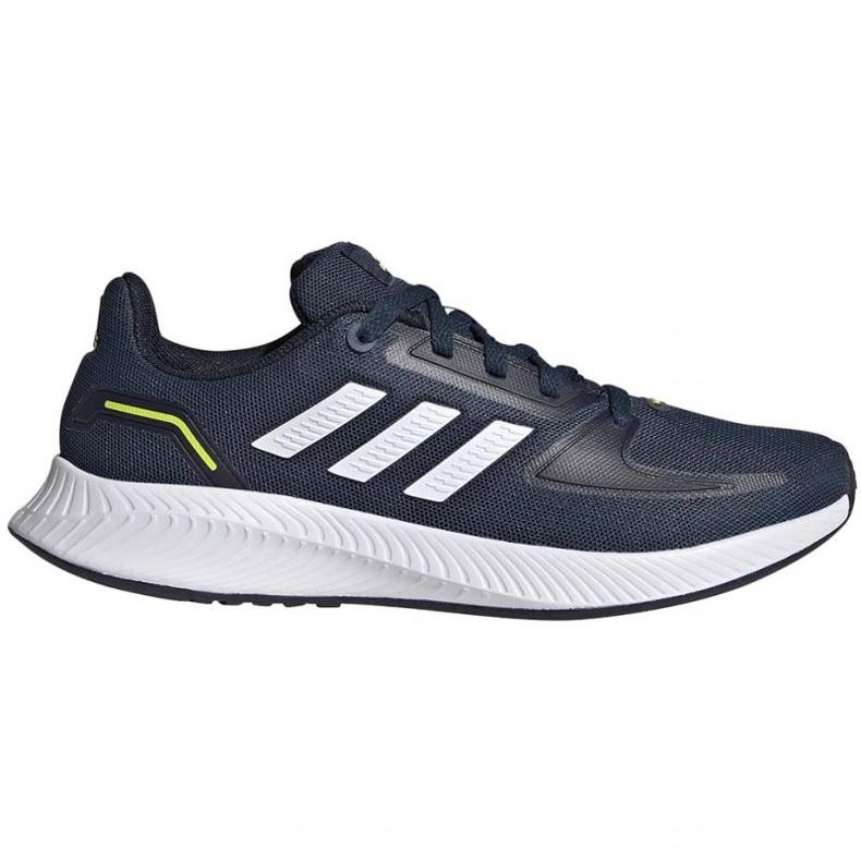 Tênis Adidas Runfalcon 2.0 K FY9498 preto azul marinho