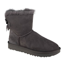 Sapatos Ugg Mini Bailey Bow Ii W 1016501-GREY preto