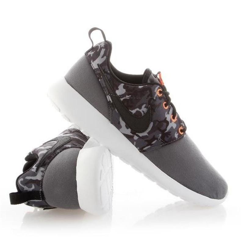 Sapato Nike Roshe One Print Jr 677782-004 branco