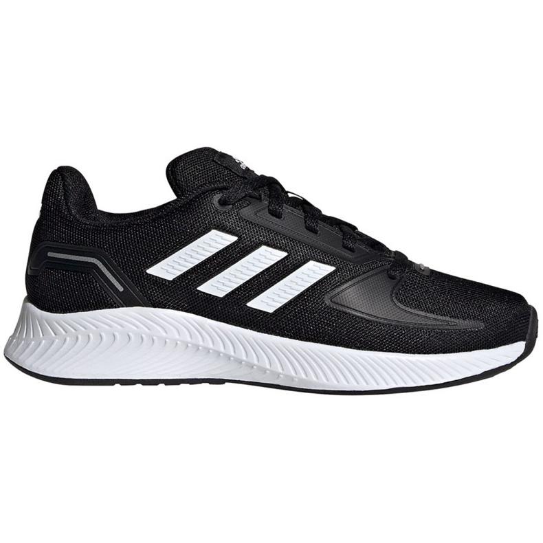 Sapatos Adidas Runfalcon 2.0 K Jr FY9495 preto azul