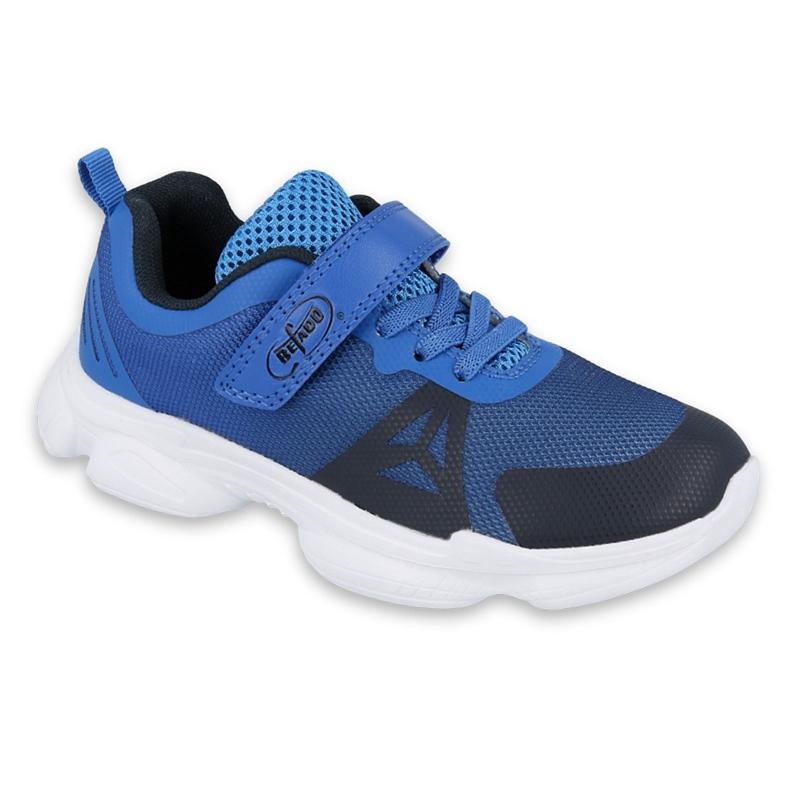Sapatos juvenis Befado 516Q056 preto azul