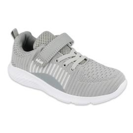 Sapatos infantis Befado 516X059 cinza
