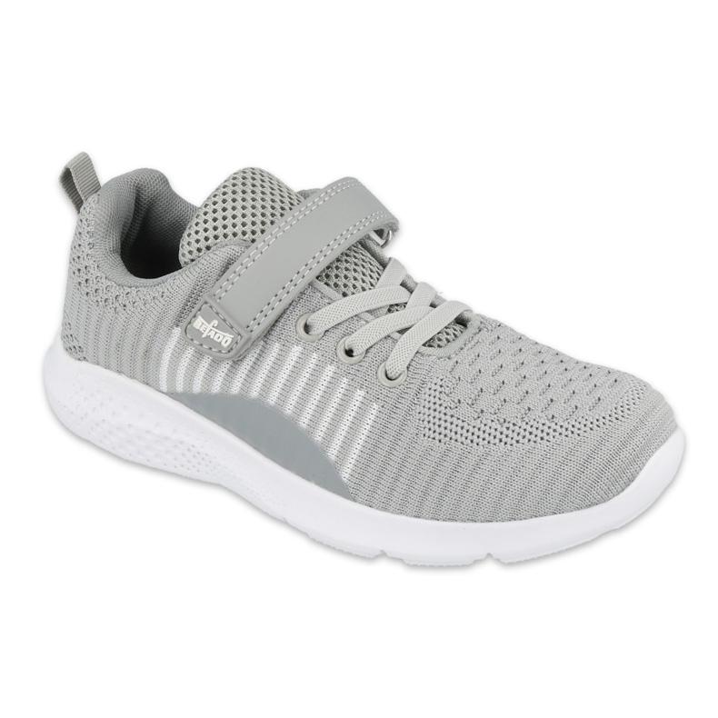 Sapatos juvenis Befado 516Q059 cinza