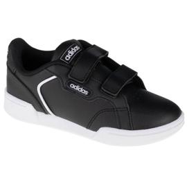 Sapatos Adidas Roguera K FW3286 preto azul marinho