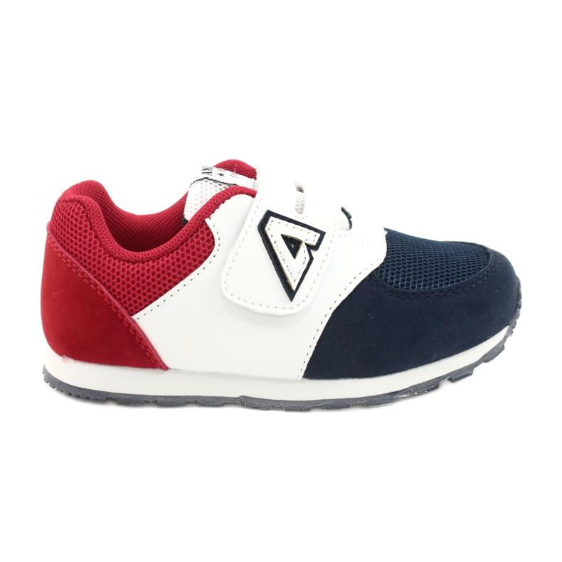 American Club Palmilha de couro BS01 BS02 Navy americana branco vermelho azul marinho