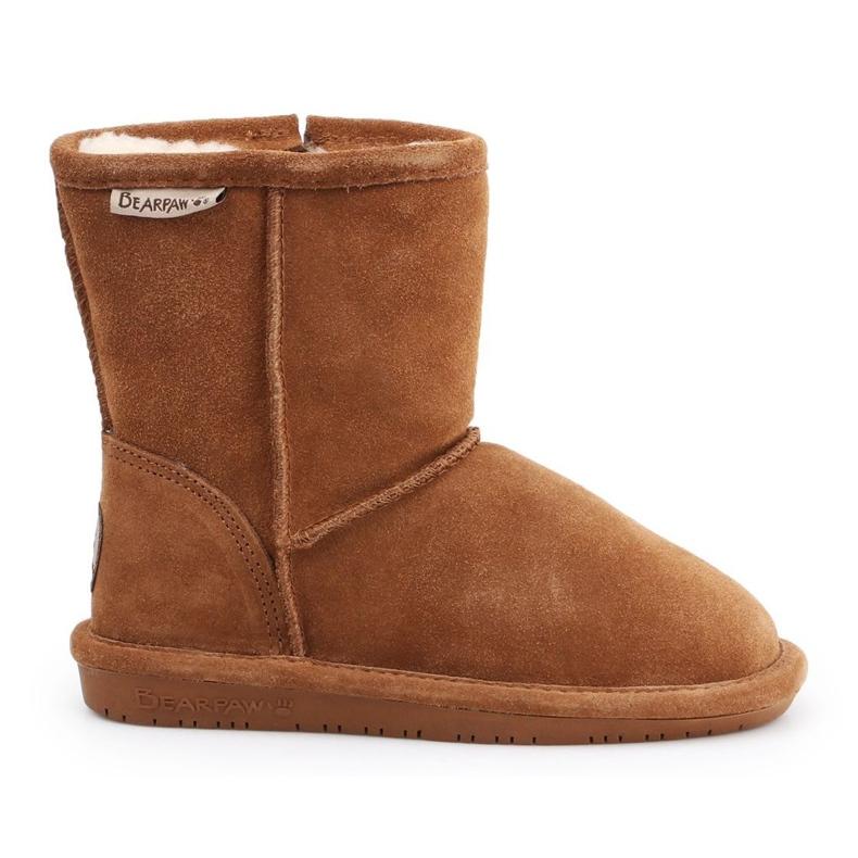 Sapatos BearPaw Hickory Ii Jr.608TZ castanho azul marinho