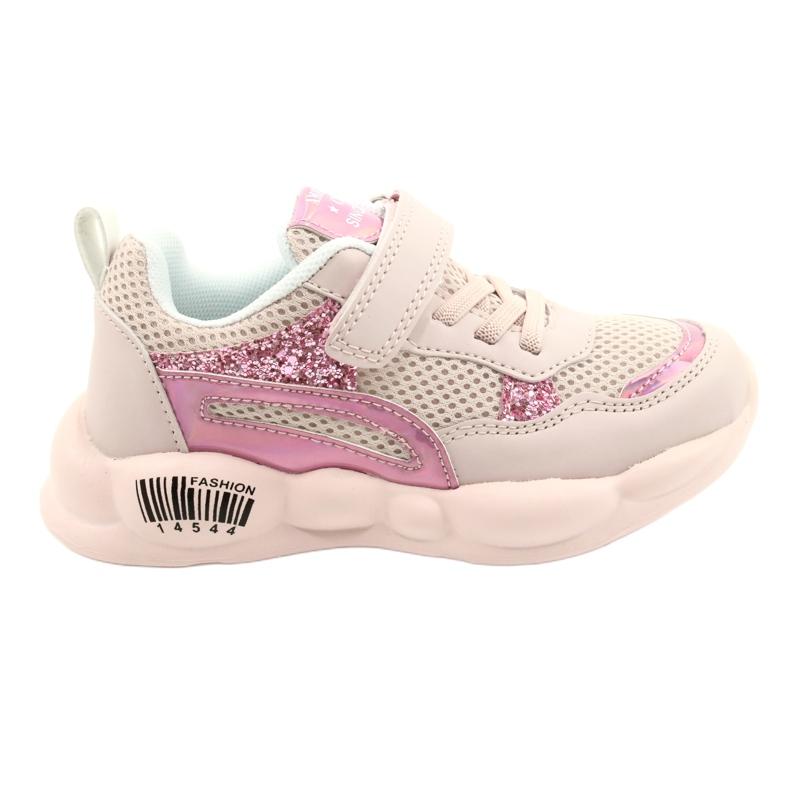American Club Calçados Esportivos Halógenos da Moda ES23 / 21 rosa