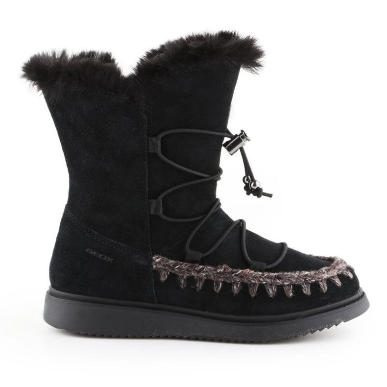 Sapatos de inverno Geox J Thymar GB Jr J944FB-00022-C9999 castanho azul