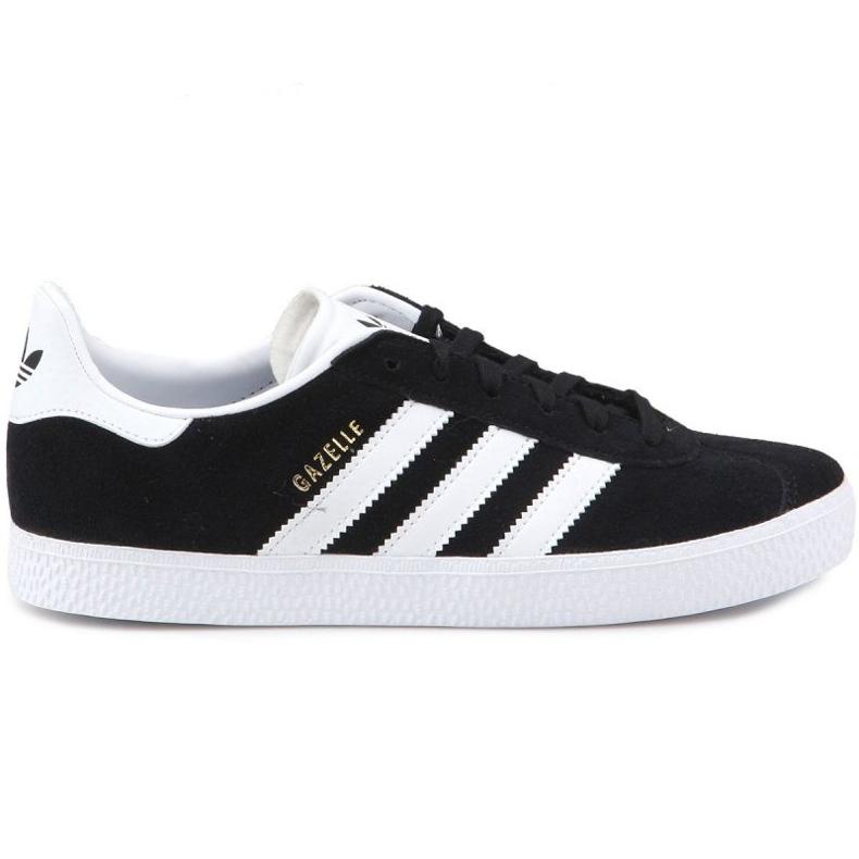 Sapatos Adidas Gazelle C Jr BB2507 preto azul