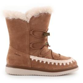 Sapatos Geox J Thymar GB Jr J944FB-00022-C6627 castanho azul