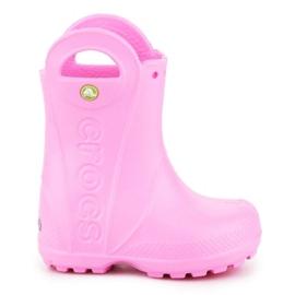 Crocs Handle It Rain Boot Kids 12803-612 rosa
