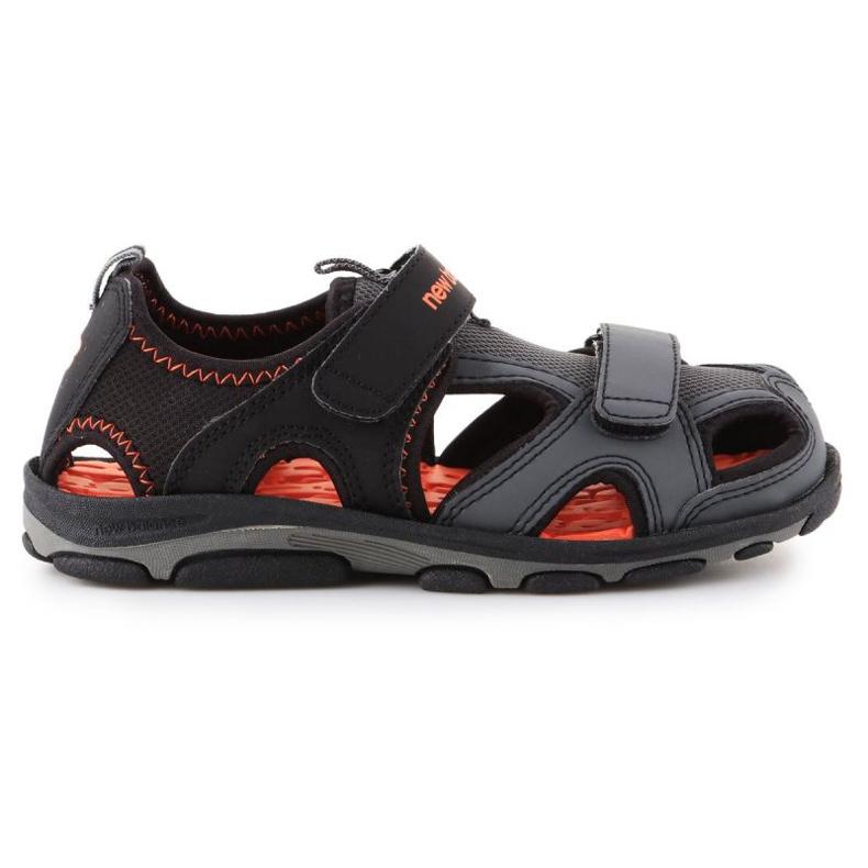 Sandália de expedição infantil New Balance Jr K2005BON preto azul