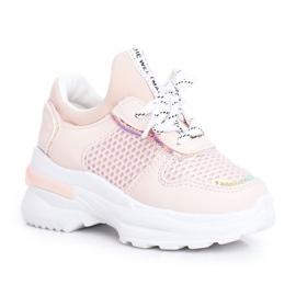FRROCK Sapatos esportivos infantis rosa Matylda
