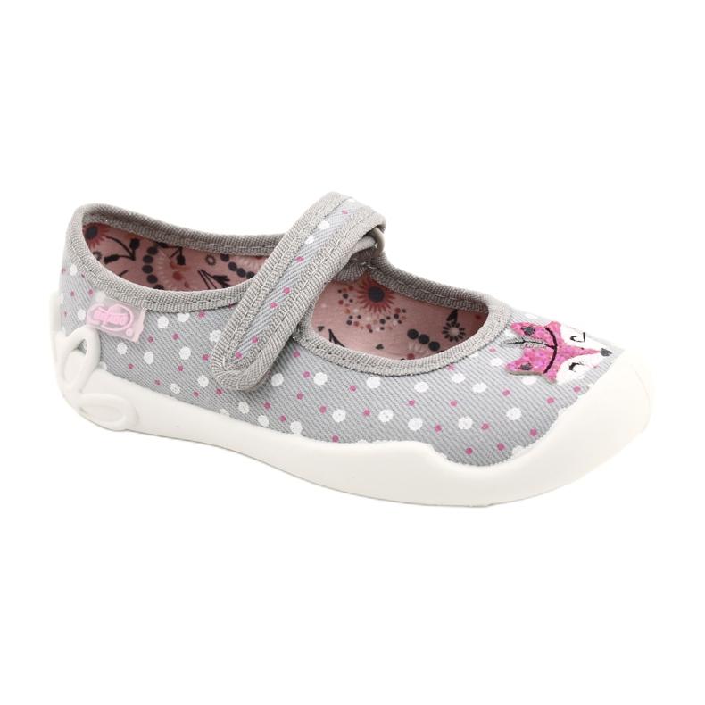 Bailarinas femininas BLANCA BEFADO 114X425 branco -de-rosa cinza