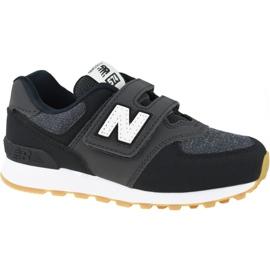 Tênis New Balance Jr YV574DMK preto