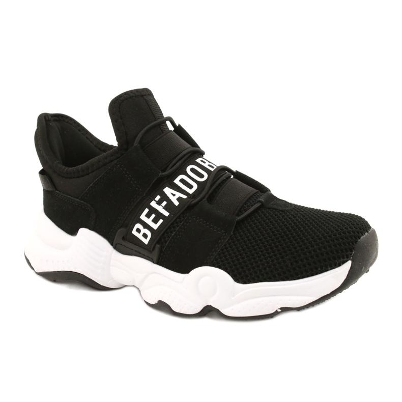 Calçados infantis Befado 516X066 branco preto