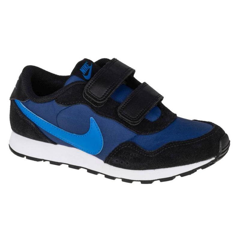 Sapato Nike Md Valiant Psv Jr CN8559-412 vermelho azul marinho