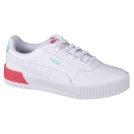 Puma Carina L Jr 370677 23 sapatos branco preto