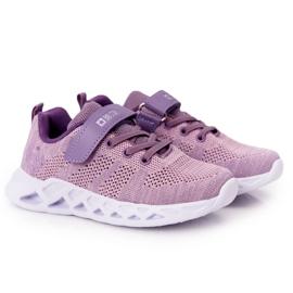Sapatilhas de desporto infantil Big Star HH374183 violeta tolet