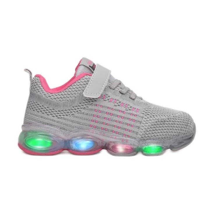 Vices Vícios 3XC8078-LED-197-cinza / fushia rosa