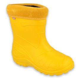Calçado infantil Befado galocha- amarelo 162P107