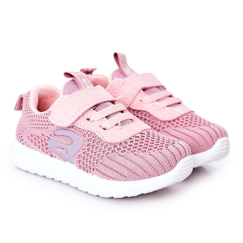 Apawwa Calçados infantis esportivos rosa escuro Little Sportsman