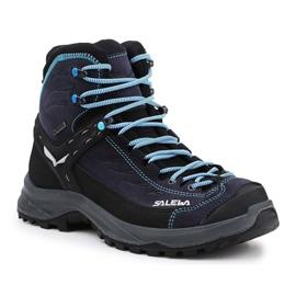 Salewa Ws Hike Trainer Mid Gtx W 61342-2242 preto marinha