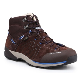 Sapatos Garmont Santiago Gtx M 481240-217 marrom azul