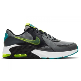 Sapata Nike Air Max Excee Power Up Jr CW5834-001 preto multicolorido