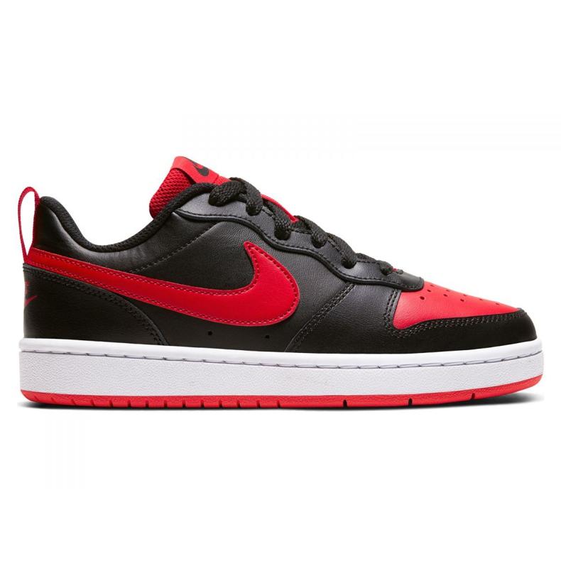 Sapatos Nike Court Borough Low 2 Jr BQ5448-007 preto