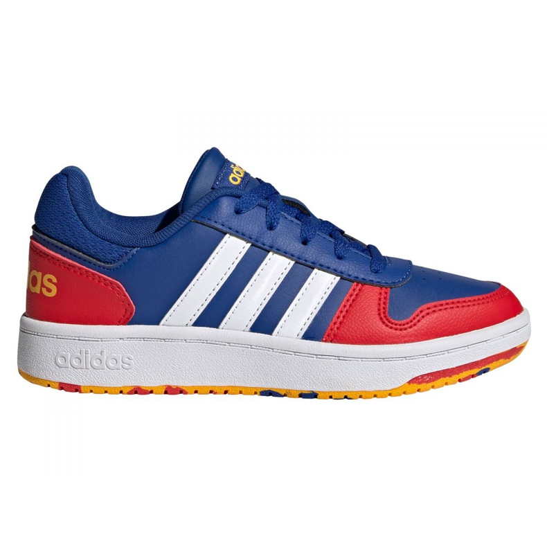 Sapatos Adidas Hoops 2.0 Jr FY7016 azul marinho azul
