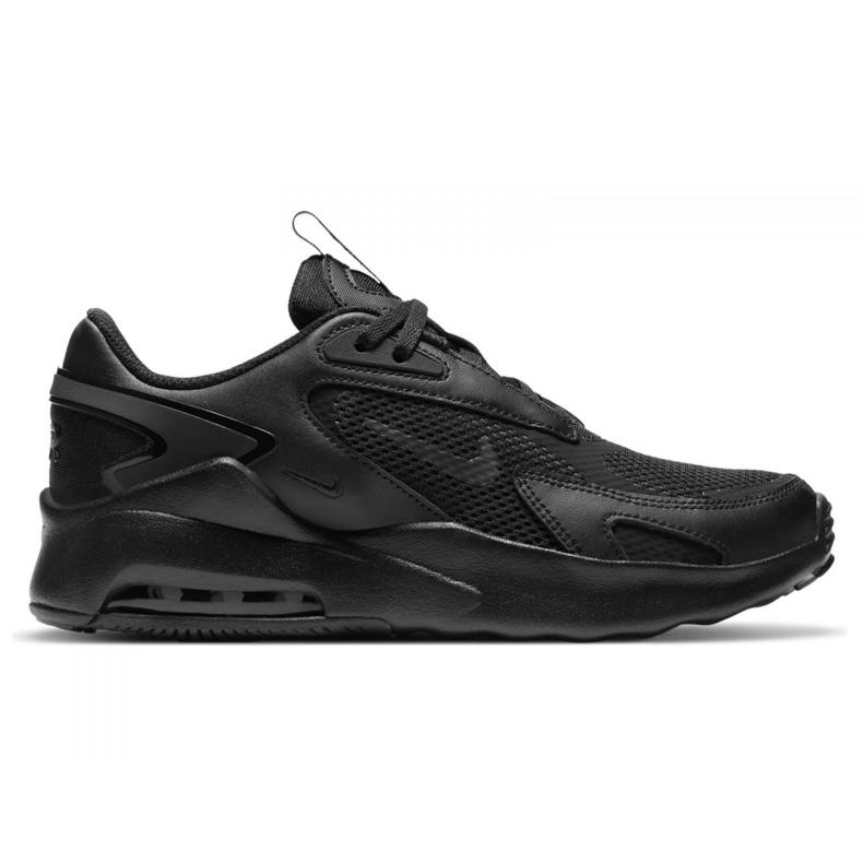 Sapata Nike Air Max Bolt Jr CW1626-001 preto vermelho
