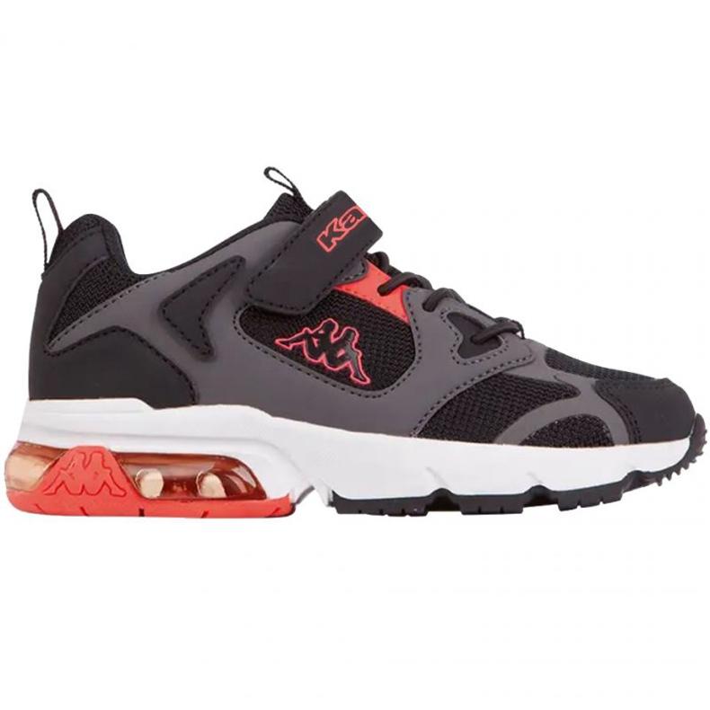 Sapatos Kappa Yero Jr 260891K preto vermelho