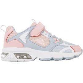 Sapatos Kappa Yero Jr 260891K rosa cinza