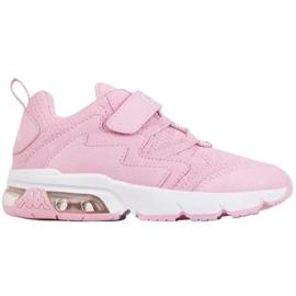 Sapatos Kappa Yaka K Jr 260890K vermelho rosa