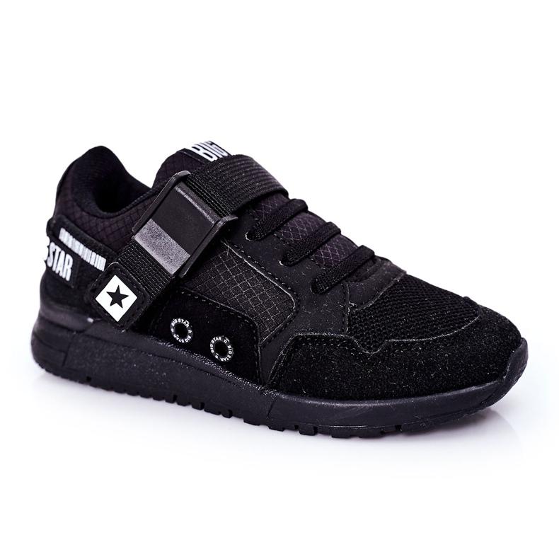 Sapatos esportivos infantis de espuma de memória Big Star HH374164 preto