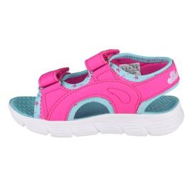 Skechers C-Flex Sandal-Star Zoom Jr 86980N-HPMT azul rosa