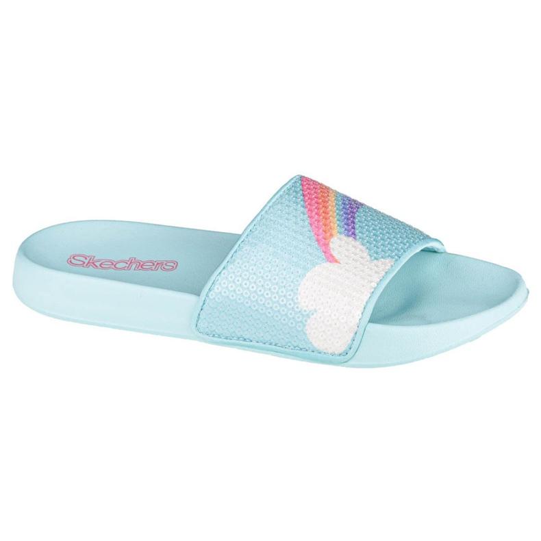 Skechers Sunny Slides-Dreamy Steps Jr 86994L-LBMT azul