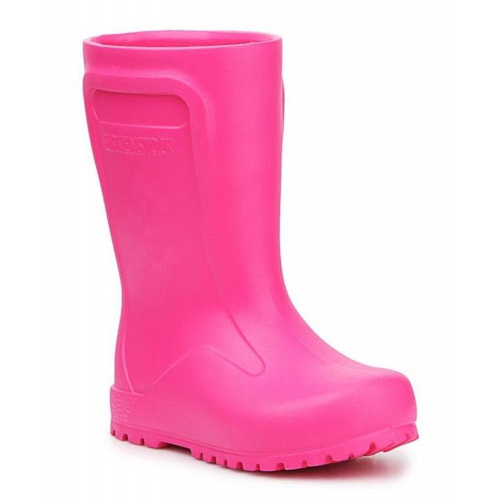 Wellingtons Birkenstock Derry Neon Pink Jr 1006288 preto rosa