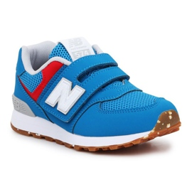 Sapatos New Balance Jr PV574BWV azul rosa