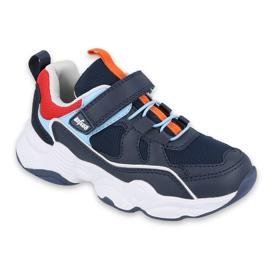 Calçados infantis Befado 516X070 azul marinho multicolorido
