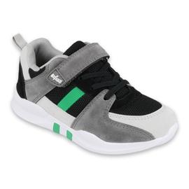 Calçados infantis Befado 516Y075 preto cinza