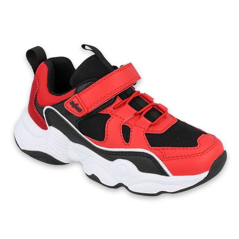 Calçados infantis Befado 516Y068 preto vermelho