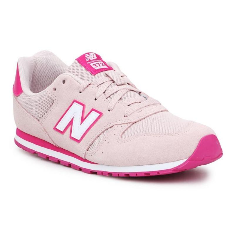 Sapatos New Balance Jr YC373SPW laranja rosa