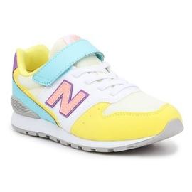 Sapatos New Balance Jr YV996MYS laranja multicolorido