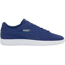 Sapatos Puma Smash v2 Buck Elektro W 365160 37 azul marinho