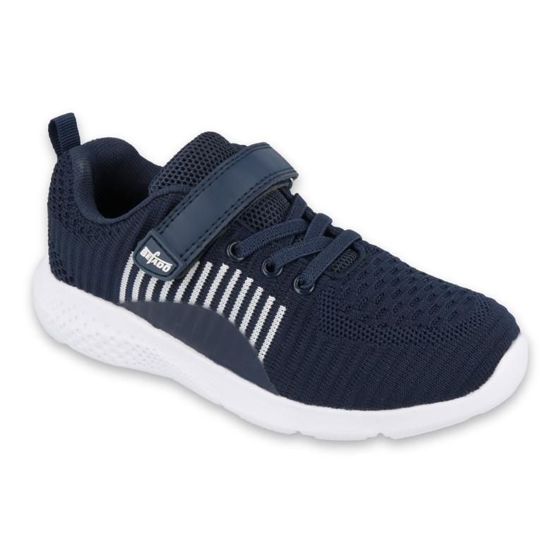 Sapatos juvenis Befado 516Q061 azul marinho