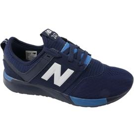 Sapatos New Balance Jr KL247C2G azul marinho branco