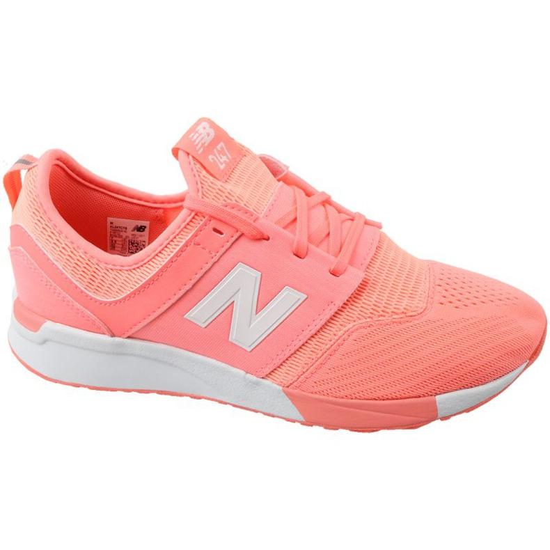 Sapatos New Balance Jr. KL247C7G laranja branco